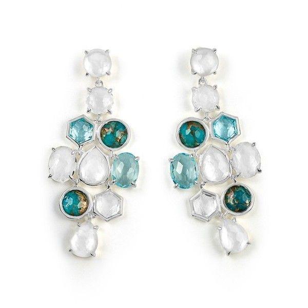Ippolita Rock Candy Cascade Earrings in Clear Quartz W6fl8CblQe