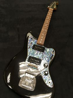 1964 Fender Jazzmaster Black w/Abalone Pickguard