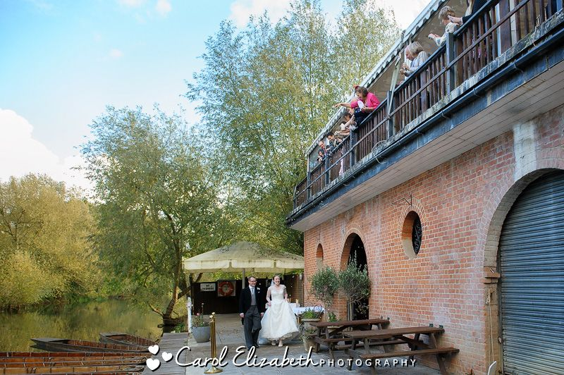 The Cherwell Boathouse Oxford Wedding Party Venue