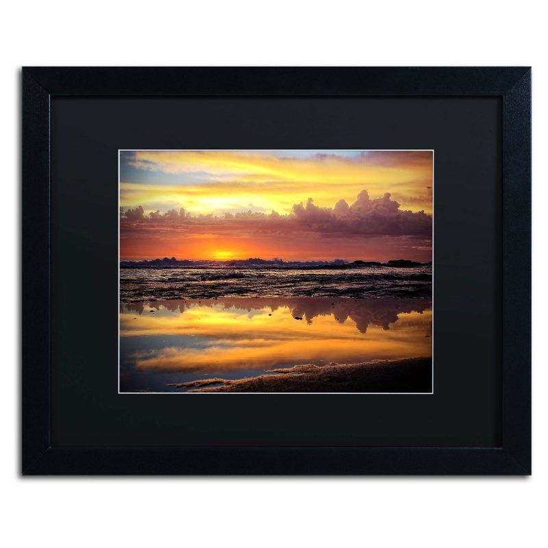 Trademark Fine Art Morning Reflections Framed Art by Beata Czyzowska ...