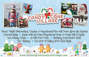 South Florida Deal: Get 50% Off a Family 4 pack Admission to Coconut Grove Candy Cane Village!