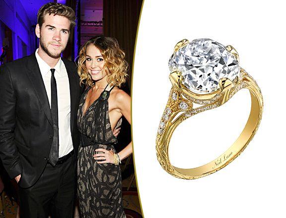 Letu0027s Talk About Miley Cyrusu0027 Engagement Ring!