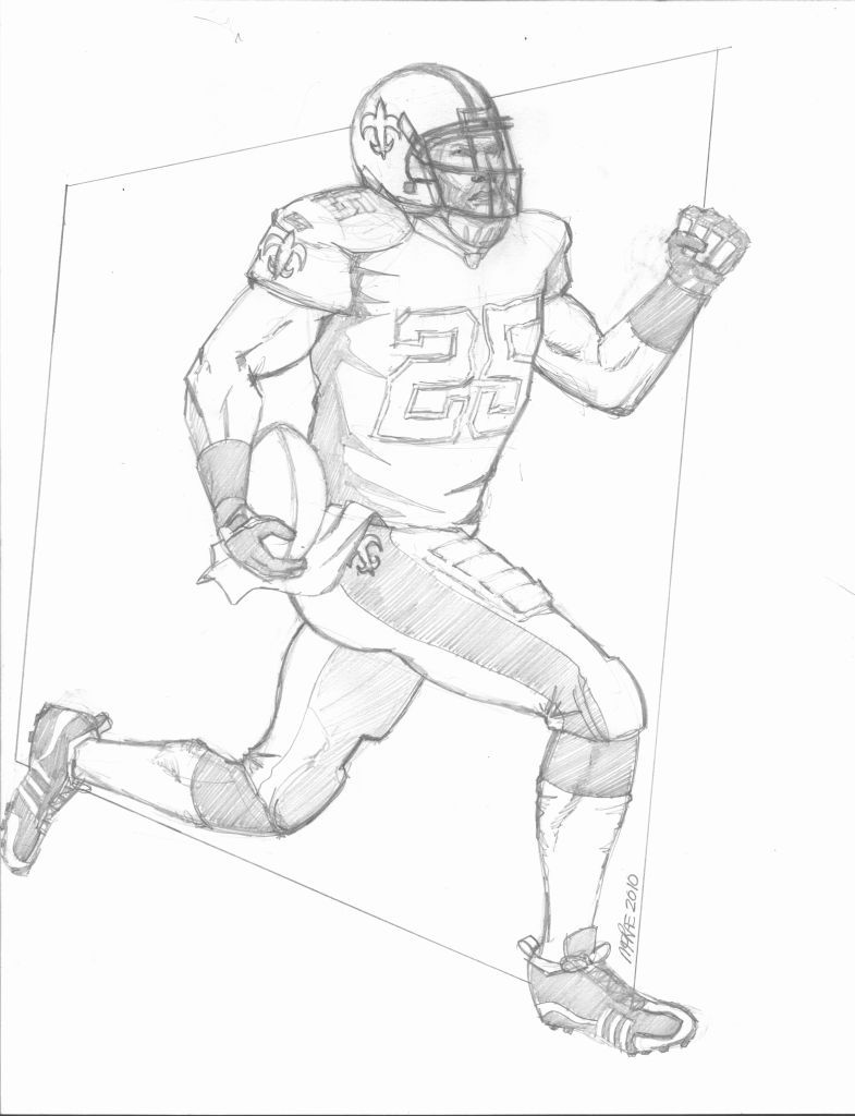 Saints Football Coloring Pages New Orleans Saints Coloring Pages