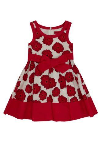Matalan Girls Poppy Print Dress Fashion Clothes Dresses