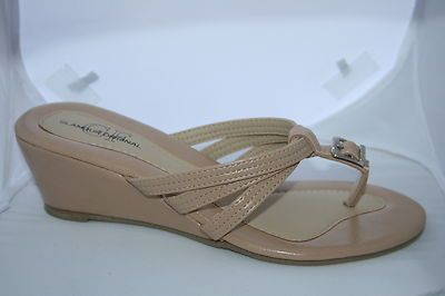 Women's Camel Wedge with Strappy Top Nice Shoe  $19.95