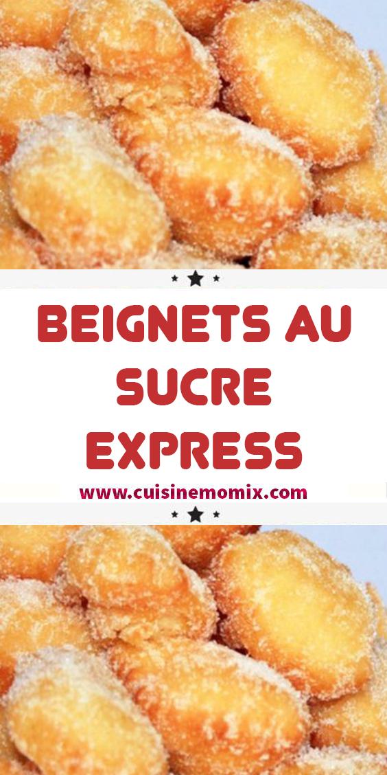 Beignets Au Sucre Express En 2020 Beignet Facile Pate A Beignet Facile Recette Beignet Facile