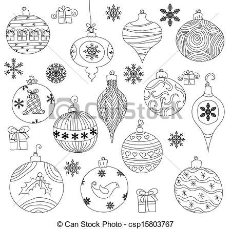 christmas ornament drawing - Google Search | ~ A R T ~ | Pinterest ...
