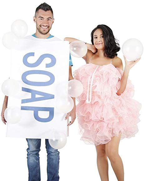Amazon.com: Soap Loofah Bubbles Adult Costume Set ...
