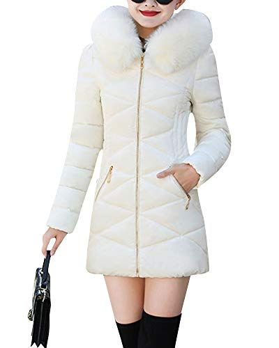 Mit Steppjacke Warm Damen Parka Jacke Winter Mantel YDH9E2WI