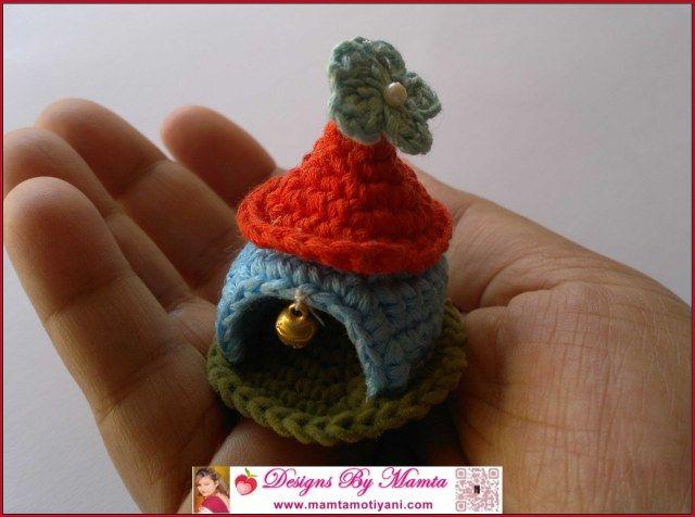 Crochet Gnome House Pattern   Häckeln, Häkeln ideen und Stricken