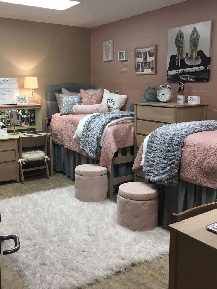 40 süße und charmante Wohnheimzimmerideen für Mädchen 25 #dormroomideas #dormroom #roomideas #collegedormroomideas