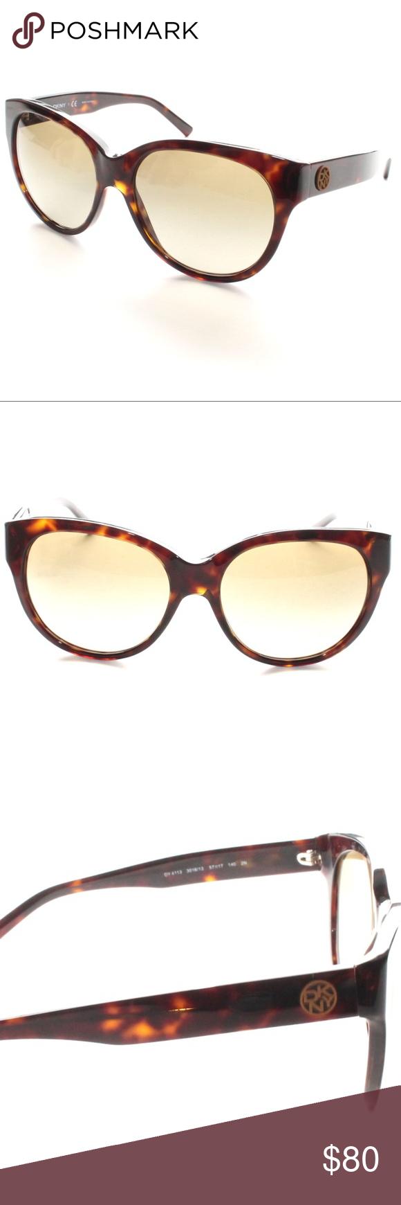 cc4c306caf67 DKNY DY 4113 3016 13 Brown Round Sunglasses