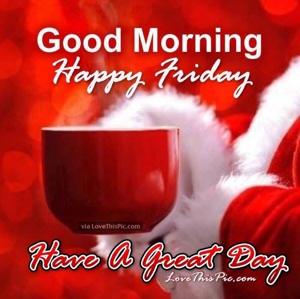 Friday Christmas Quotes: Christmas Good Morning Happy Friday Quote Friday Happy