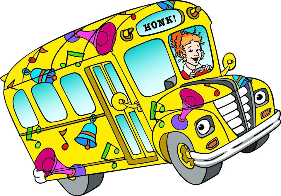 Image Result For Magic School Bus Field Trip School Bus Clipart