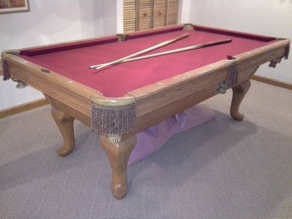 A7 Brunswick Brookstone Pool Table For Sale