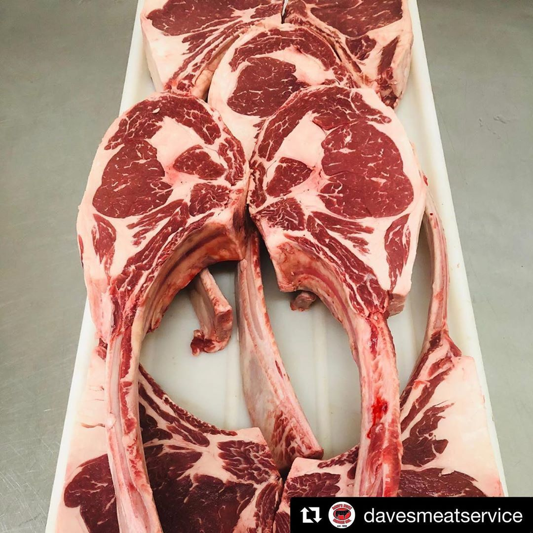 Our @oakridgebbq Carne Crosta steak rub would be epic on these tomahawks. Stop by @davesmeatservice then swing by us.   Repost @davesmeatservice with @get_repost ・・・ Let's Talk About Tomahawks! . We have some awesome cuts of steaks up for grabs at our shop this weekend! First come first serve so get yours quick because these beauties will not last long on a weekend like this! .   davesmeatservice  foodbeast  foodiegram  tastemade  forkyeah  delicious  foodoftheday  droolclub  over20yearsexperien #steakrubs