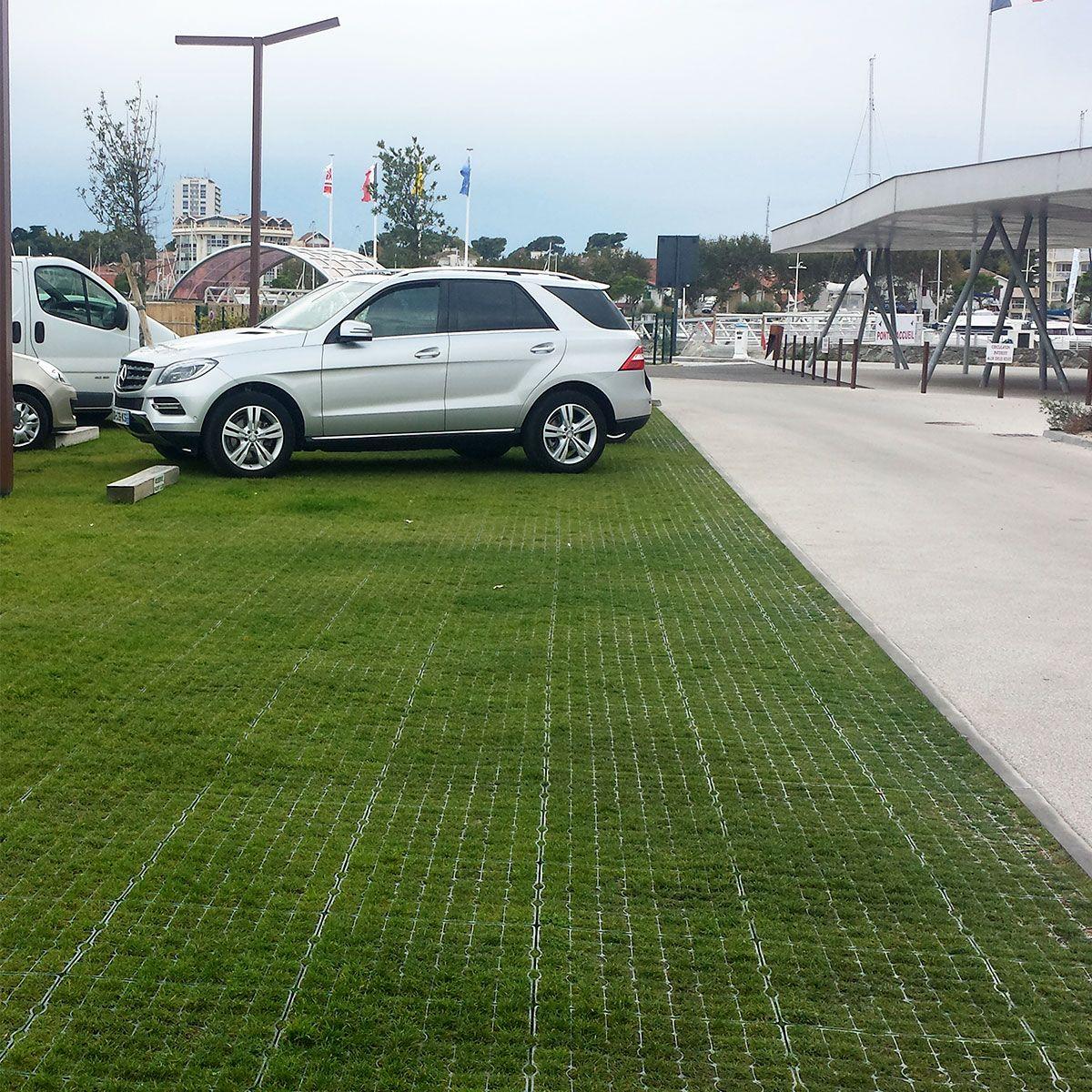 Dalle Beton Parking Herbe nidagrass ig040 renforcement de gazon naturel parking