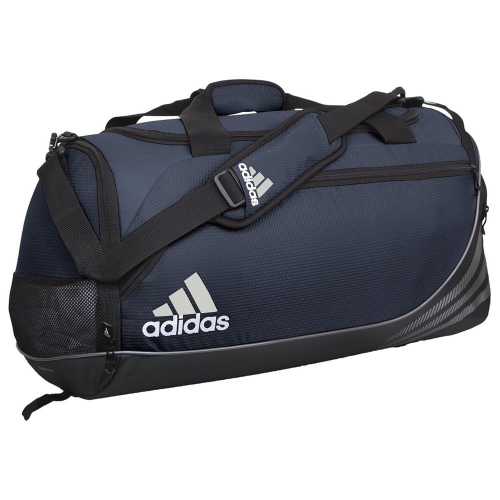 e274cf6675 adidas Team Speed Duffel Bag (Medium) Collegiate Navy Black Medium New   adidas