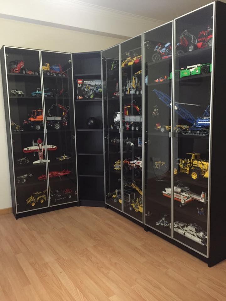 Lego Display Cabinet Lego Display Lego Zimmer Lego Aufbewahrung