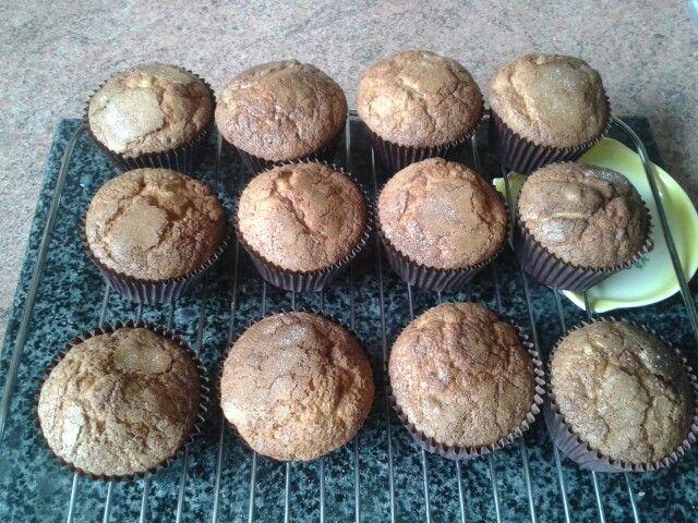 My own recipe ~ Banana Cinnamon Muffins (deliciously yummy) :-)