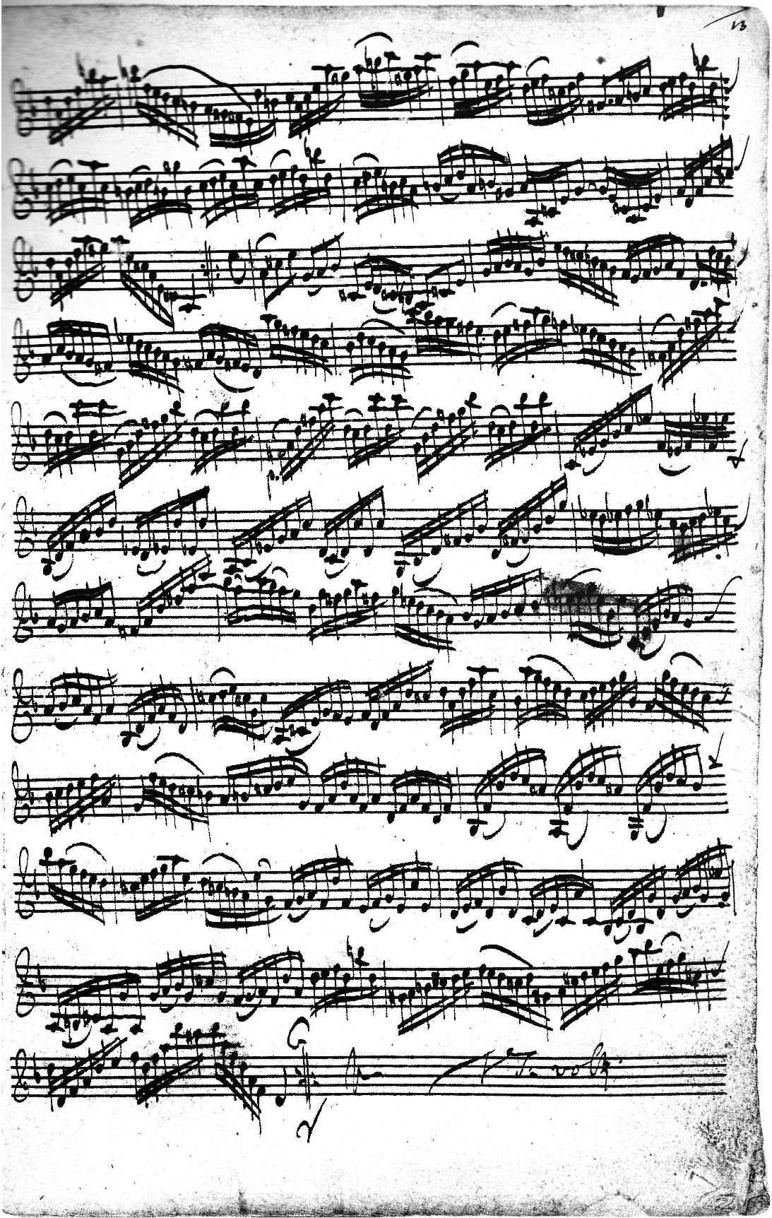 bach gigue in d minor