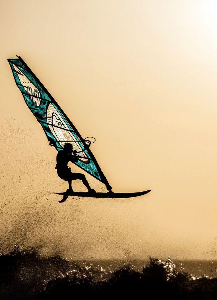I'd love to go windsurfing someday!