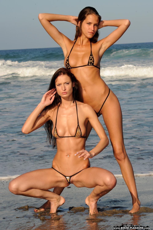 Micro bikini models nude