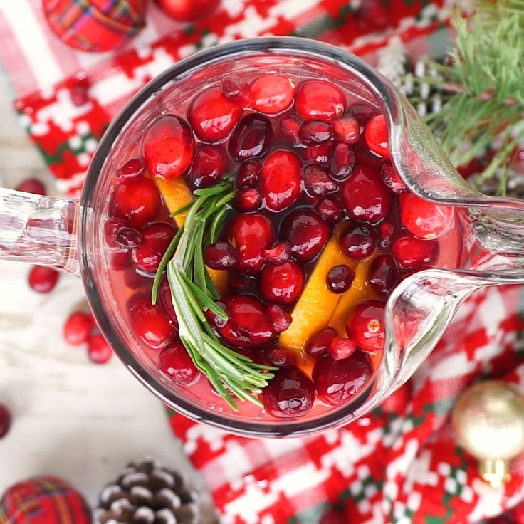 Christmas Punch Is An Easy And Delicious Holiday Party