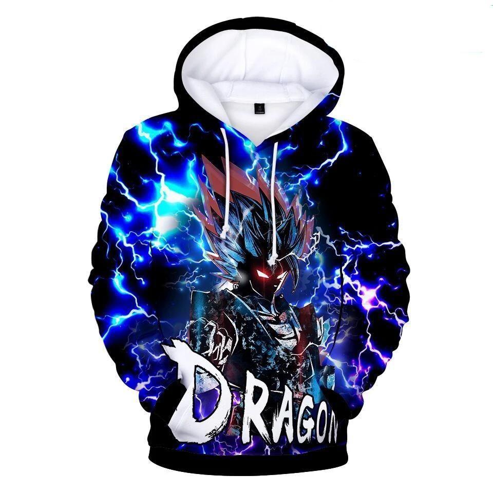 Shop Dragon Ball Long Sleeve 3d Hoodies Only Anime Hoodie Sweatshirts Hoodie Hoodies Men