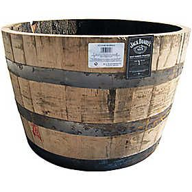 Jack Daniel S Half Whiskey Barrel Planter For The Home Whiskey