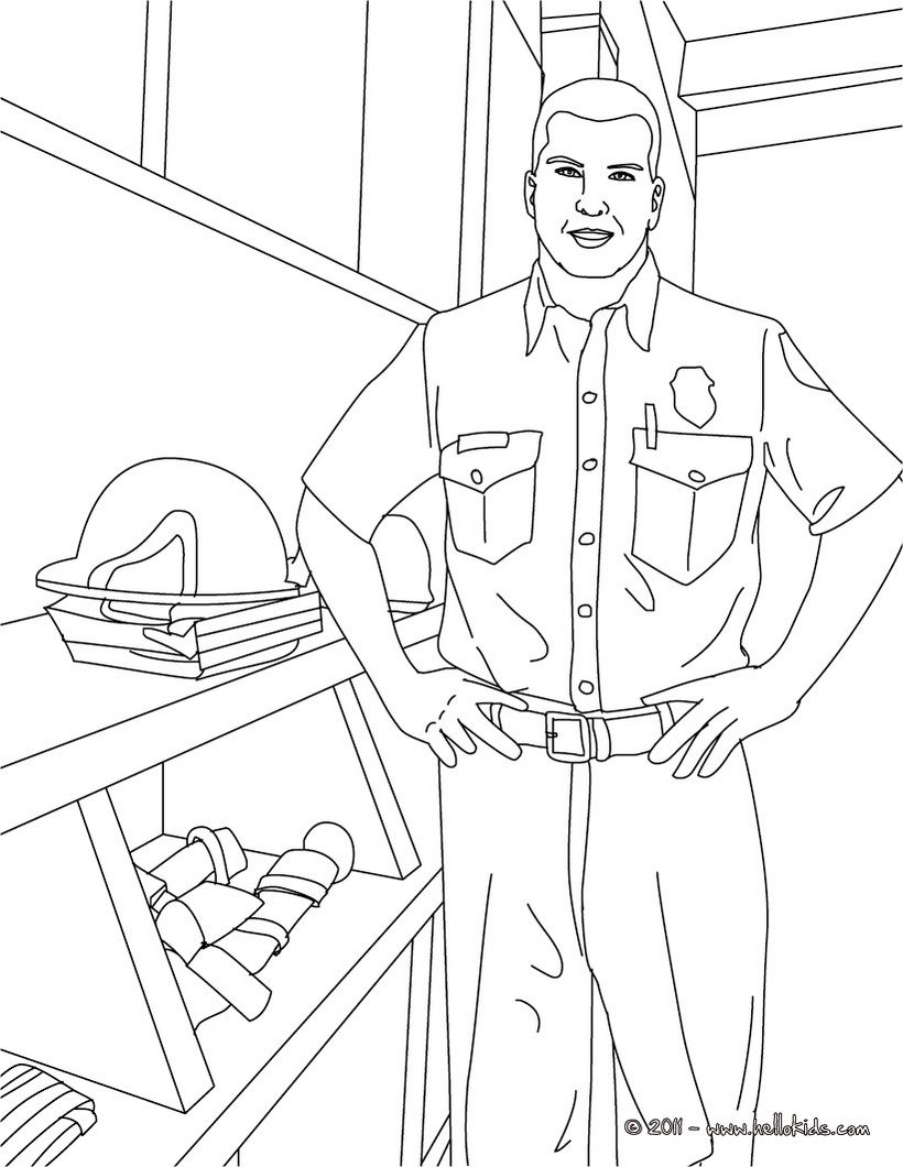 fireman_coloring_pages__fireman_in_uniform_firefighter