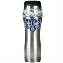 Rhinestone Tumbler Indianapolis Colts Travel Mug