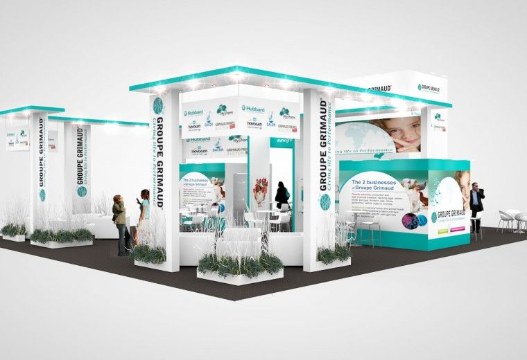Exhibition Stand Design Tender : Design for exhibition stand tender at groupe grimaud s european
