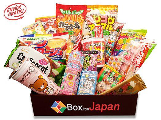 Boxfromjapan Es El único Sitio Web Con Suscripción De Golosinas O Ramen Instantáneo En Español Candy Subscription Box Japanese Sweets Japanese Treats
