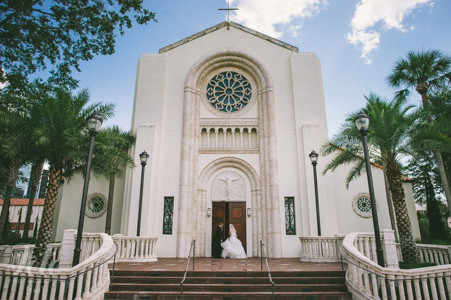 St James Catholic Cathedral At Downtown Orlando Central Florida Wedding Venues Central