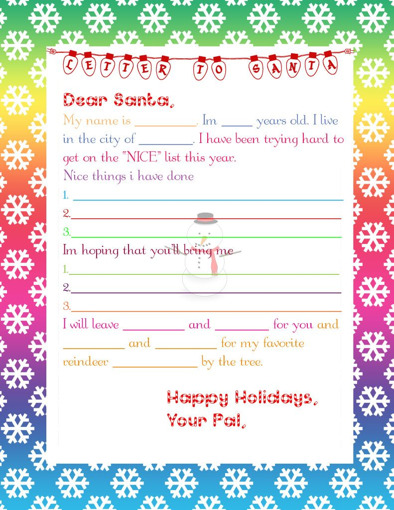 1000 images about letter to santa on pinterest santa letter template free printables and children