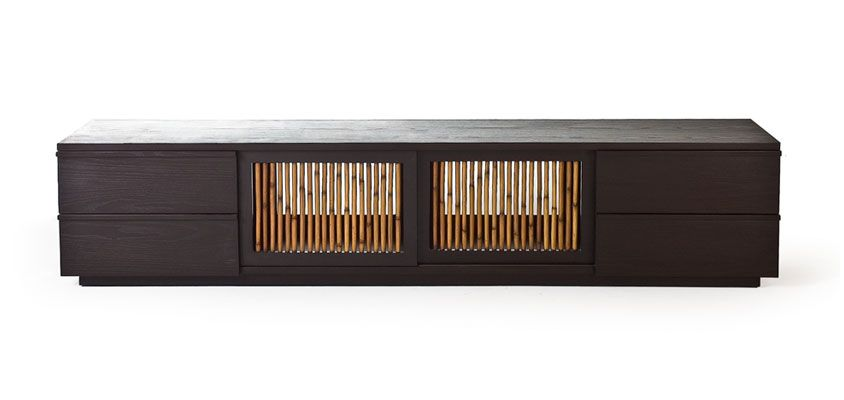 Kenneth Cobonpue  Collections  KAWAYAN  entertainment console - Balou Rattan Mobel Kenneth Cobonpue