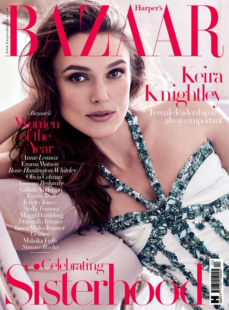 Harper's Bazaar UK Back Issue DEC 16 (Digital) -   22 beauty Editorial harpers bazaar ideas