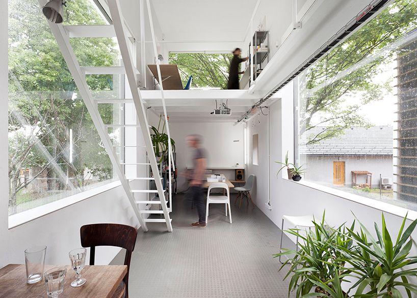 Twin tiny dwellings create an airy live-work retreat | Zen house ...