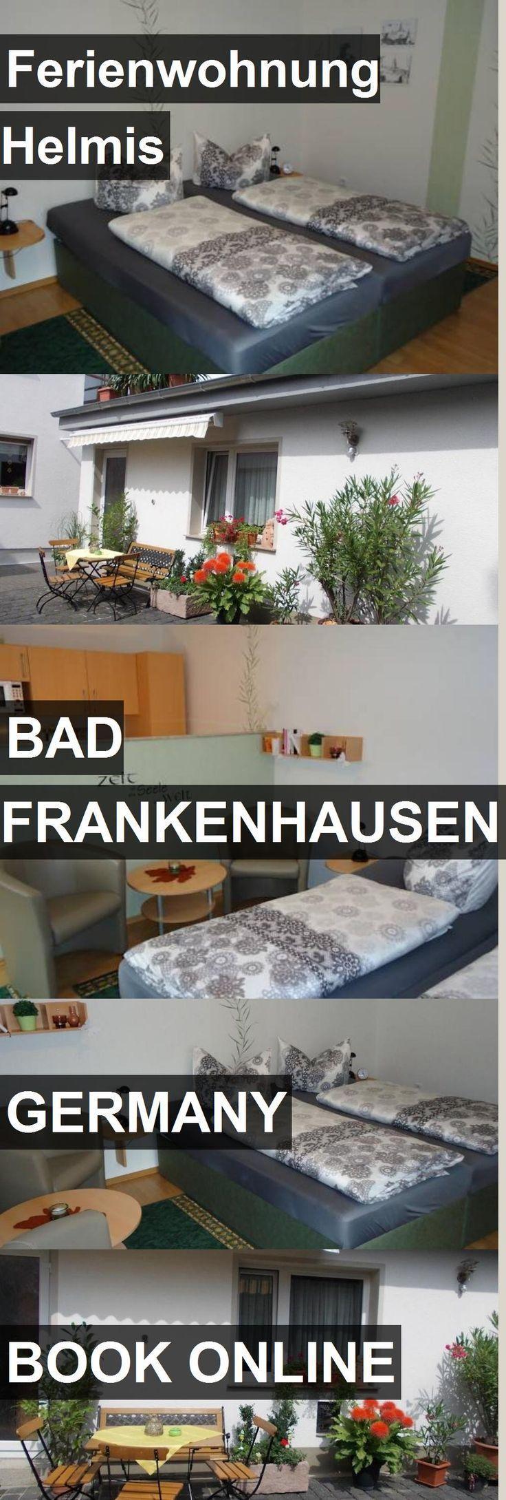 Hotel Ferienwohnung Helmis in Bad Frankenhausen Germany. For more ...