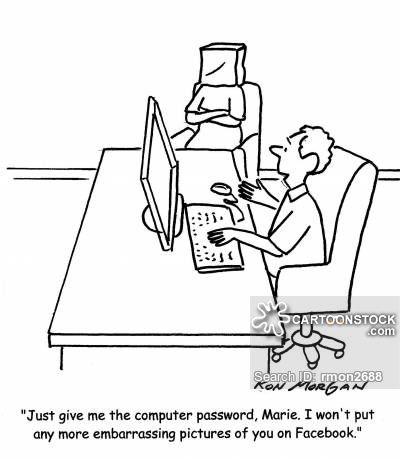 Computer Passwords cartoons, Computer Passwords cartoon
