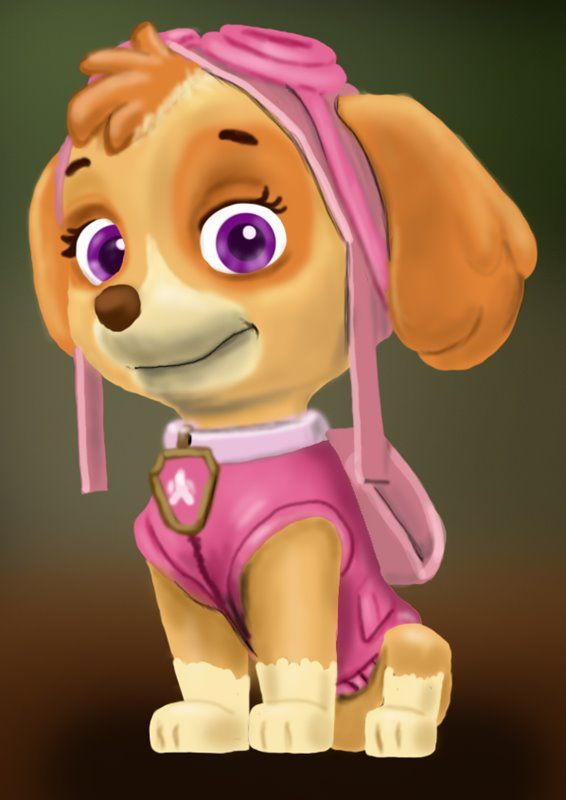 Learn How To Draw Skye From PAW Patrol (PAW Patrol) Step By Step : Drawing  Tutorials