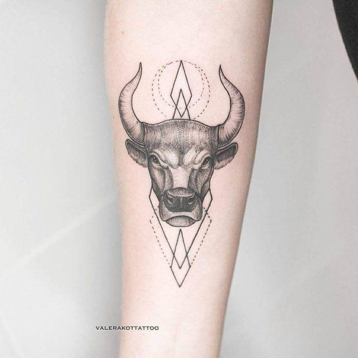 татуировки за знаком тельца