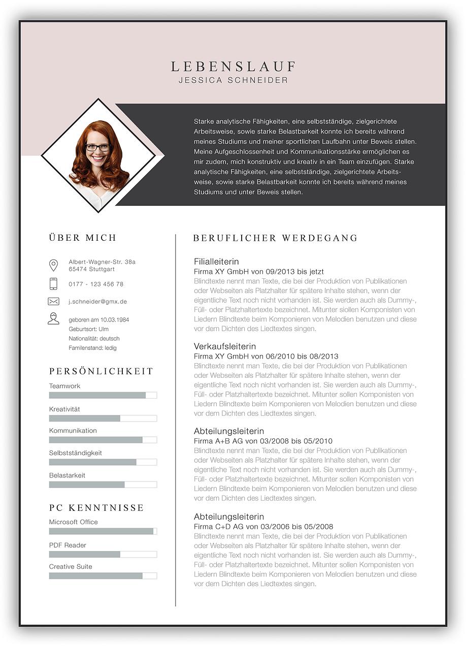 Bewerbungsvorlage, Bewerbung, Vorlage, Bewerbungsschreiben, Kreativ  Bewerbung, Bewerbungsvorlagen, Vorlage für Bewerbung