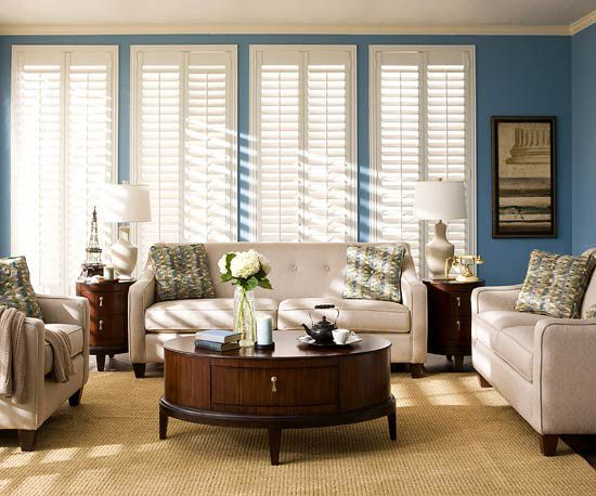 Stylish Living Room Collections From Raymour Flanigan Living Rooms White Shutters And White