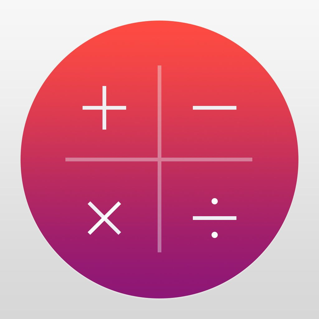 Numerical calculator without equal app icon android app