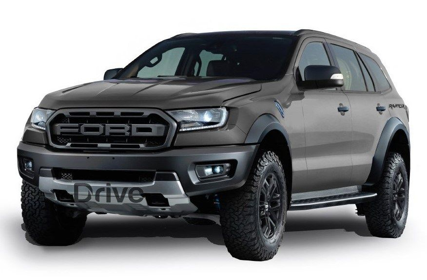 2020 Ford Everest Raptor Concept Ford Endeavour Ford