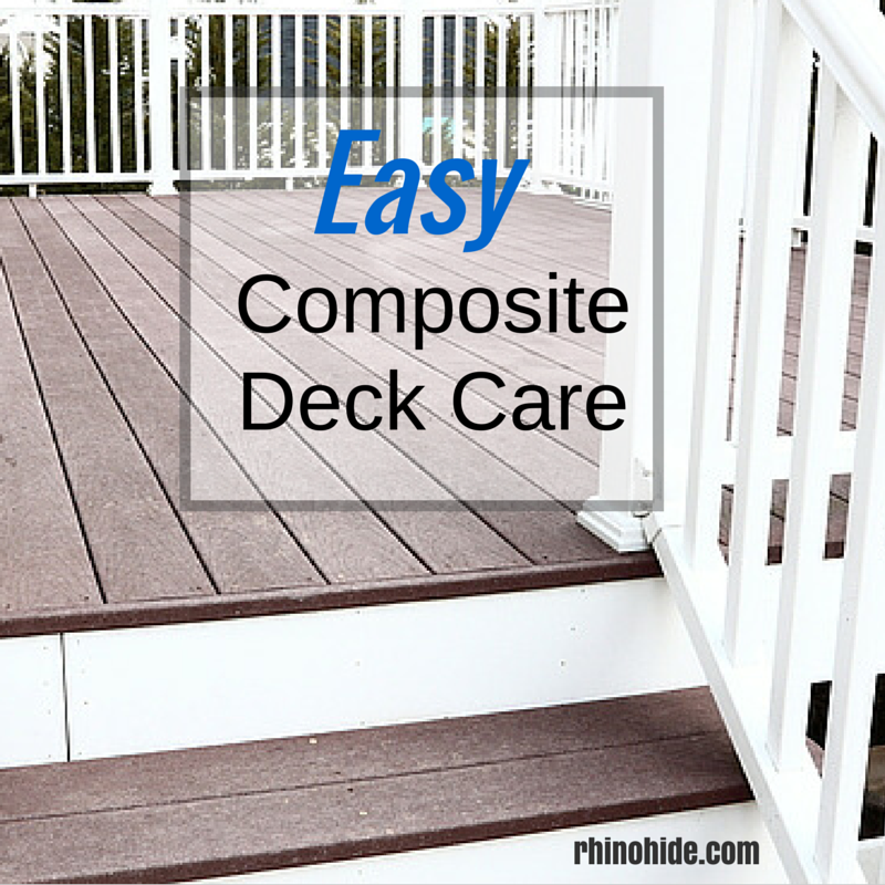 How To Clean Your Composite Deck Easy