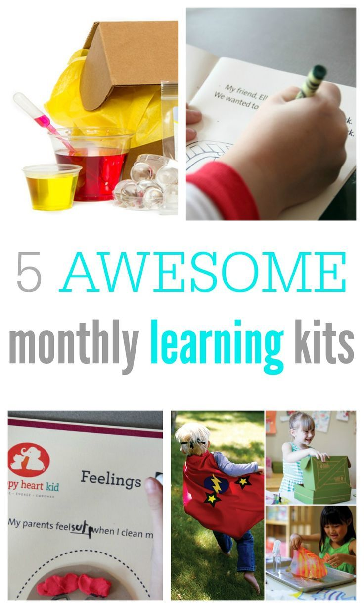 Photo of THE BEST Monthly Subscription Learning Kits for Kids [2020]