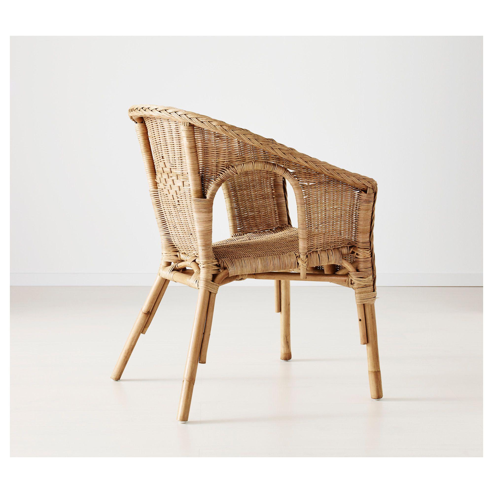 Poltrone In Rattan Ikea.Ikea Agen Rattan Bamboo Armchair Home Decor In 2019